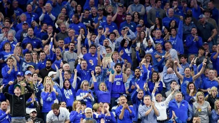 Image result for big blue nation crowd